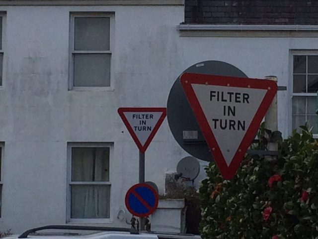 Guernsey Filter Signs