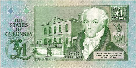 Guernsey pound note