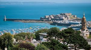 castle cornet and harbour